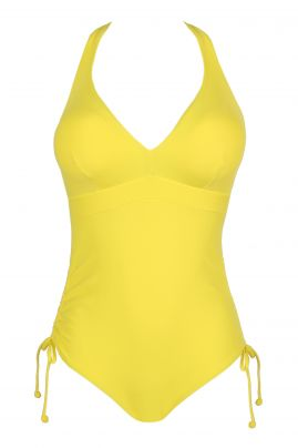 HOLIDAY padded swimsuit Yellow