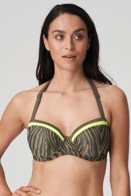 ATUONA topattu balconette-bikiniliivi Fluo jungle