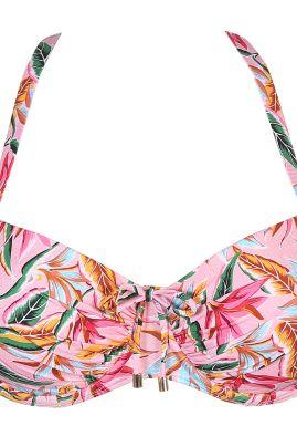 SIROCCO topattu balconette bikiniliivi Pink Paradise