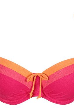 TANGER topattu balconette bikiniliivi Pink Sunset