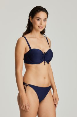 SHERRY topattu olkaimeton bikiniliivi Sapphire Blue