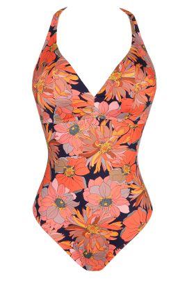 MELANESIA swimsuit Coral flower