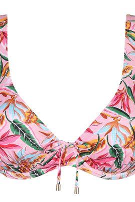 SIROCCO topattu kolmiobikiniliivi Pink Paradise