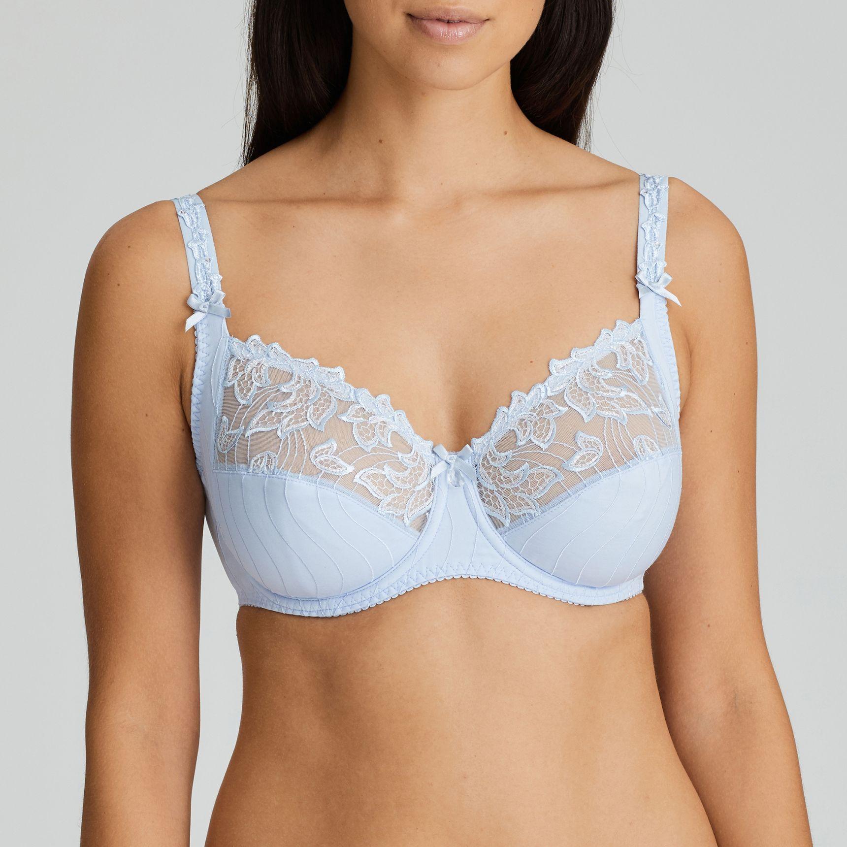 Deauville täyskuppinen rintaliivi Heather Blue