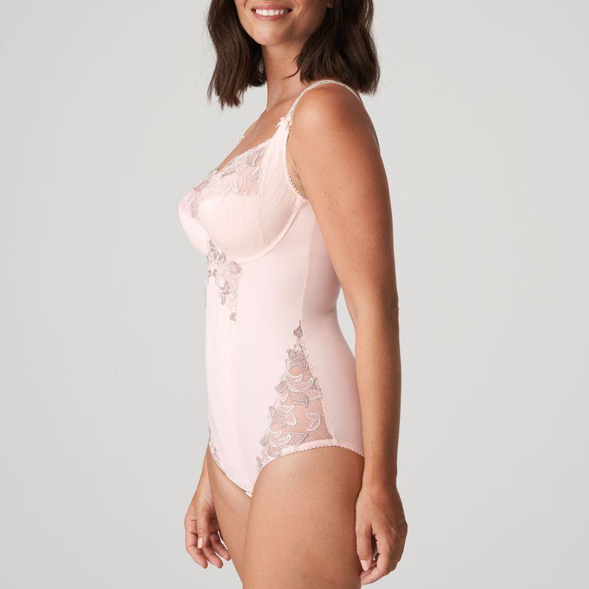 DEAUVILLE kaarituellinen body Silky Tan