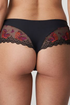 PALACE GARDEN luxury thong Charcoal