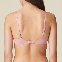 Tyra topattu pisaramallinen rintaliivi Renaissance Pink