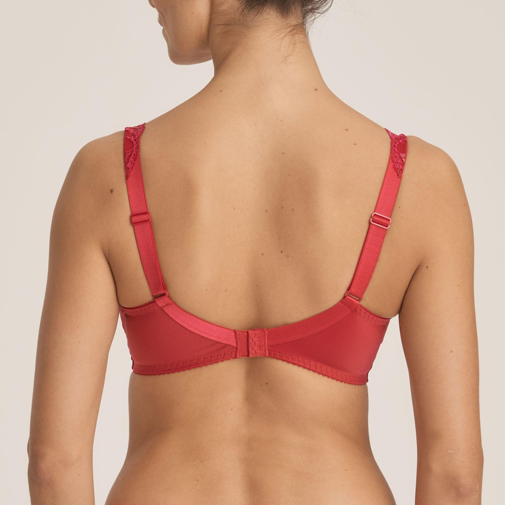 Madison täyskuppinen rintaliivi Persian Red