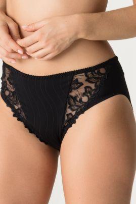Deauville korkea alushousu Musta