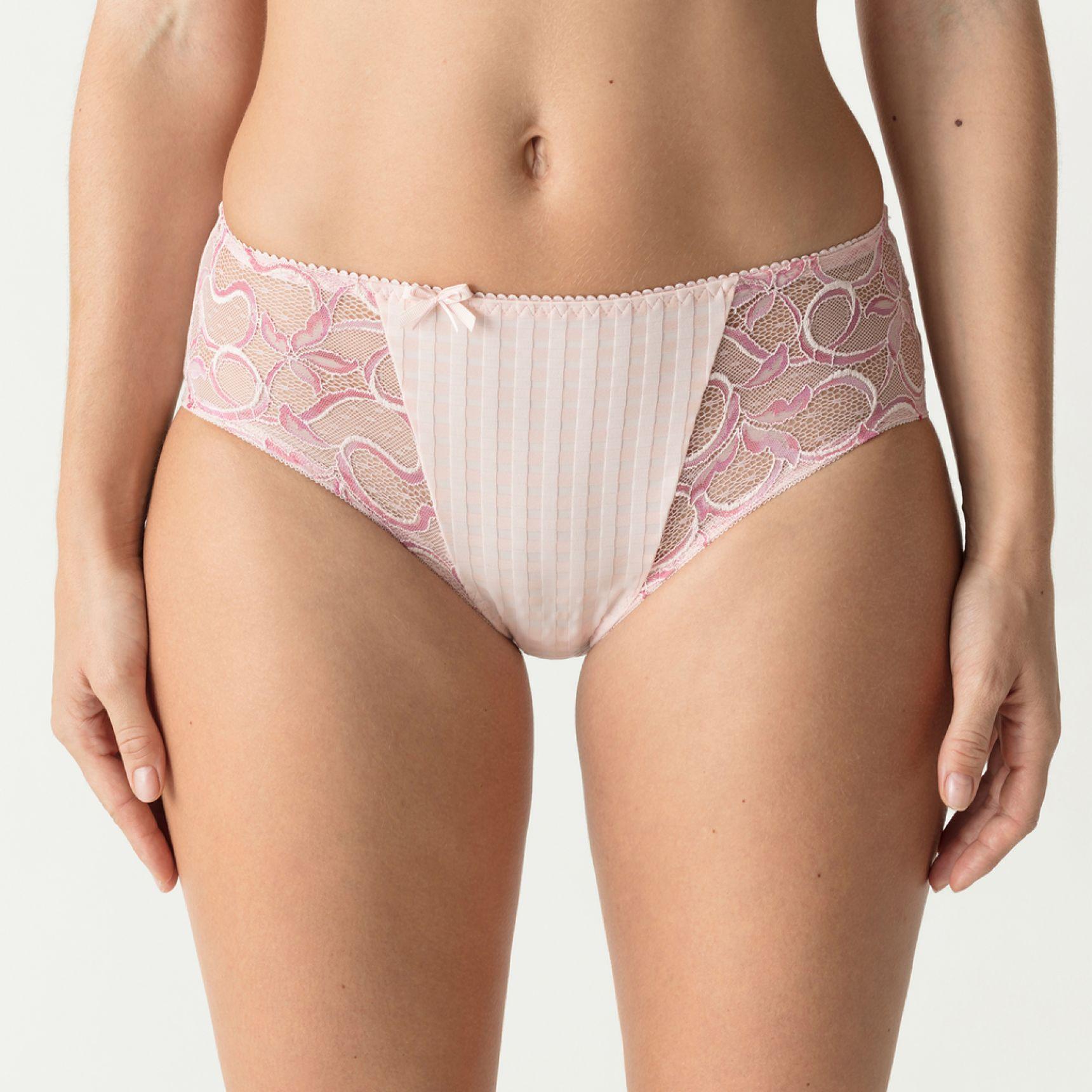 Madison korkea alushousu Pearly Pink