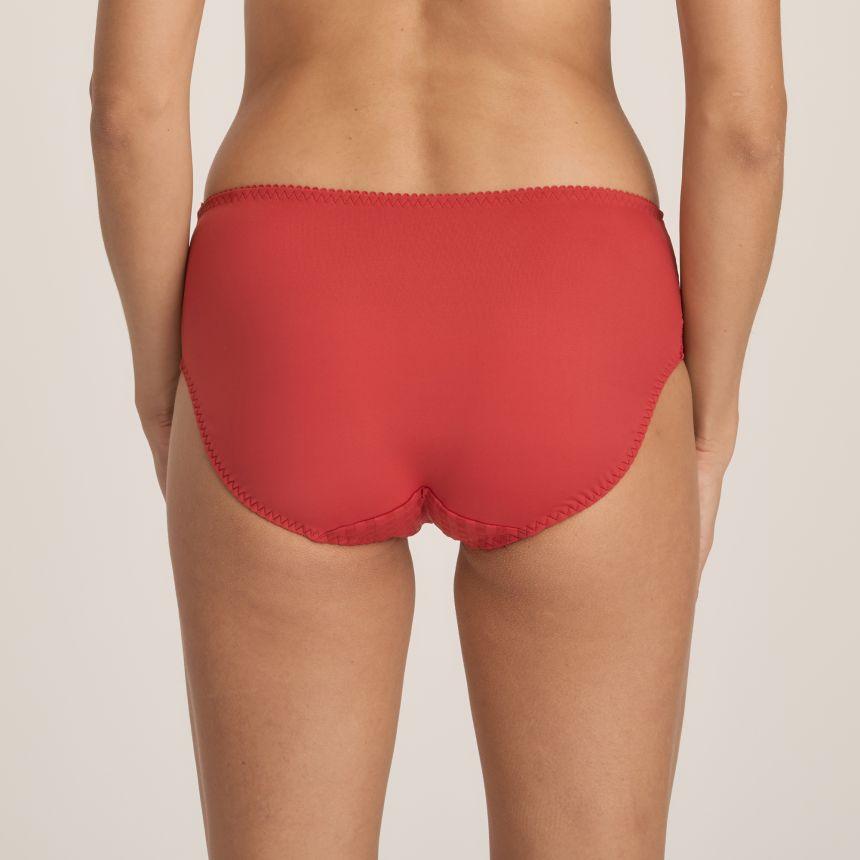 Madison korkea alushousu Persian Red