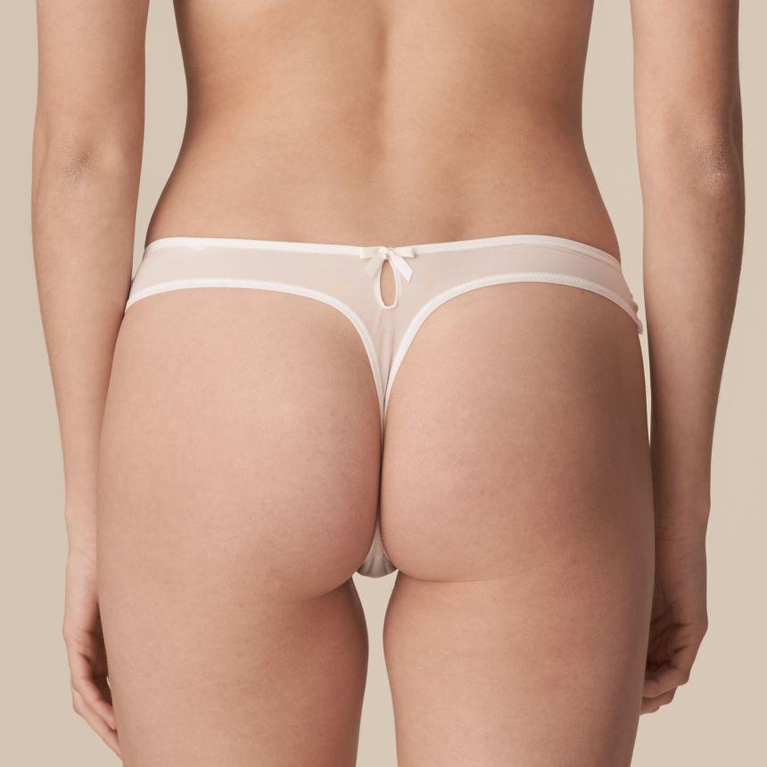 Pearl string-housu Natural