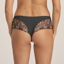 Wild Flower luxury string-housu Night Grey