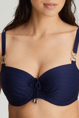 Sherry topattu balconette bikiniliivi Sapphire Blue