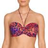 Sunset Love topattu olkaimeton bikiniliivi