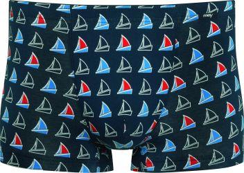 Pelotas bokserit Yacht Blue