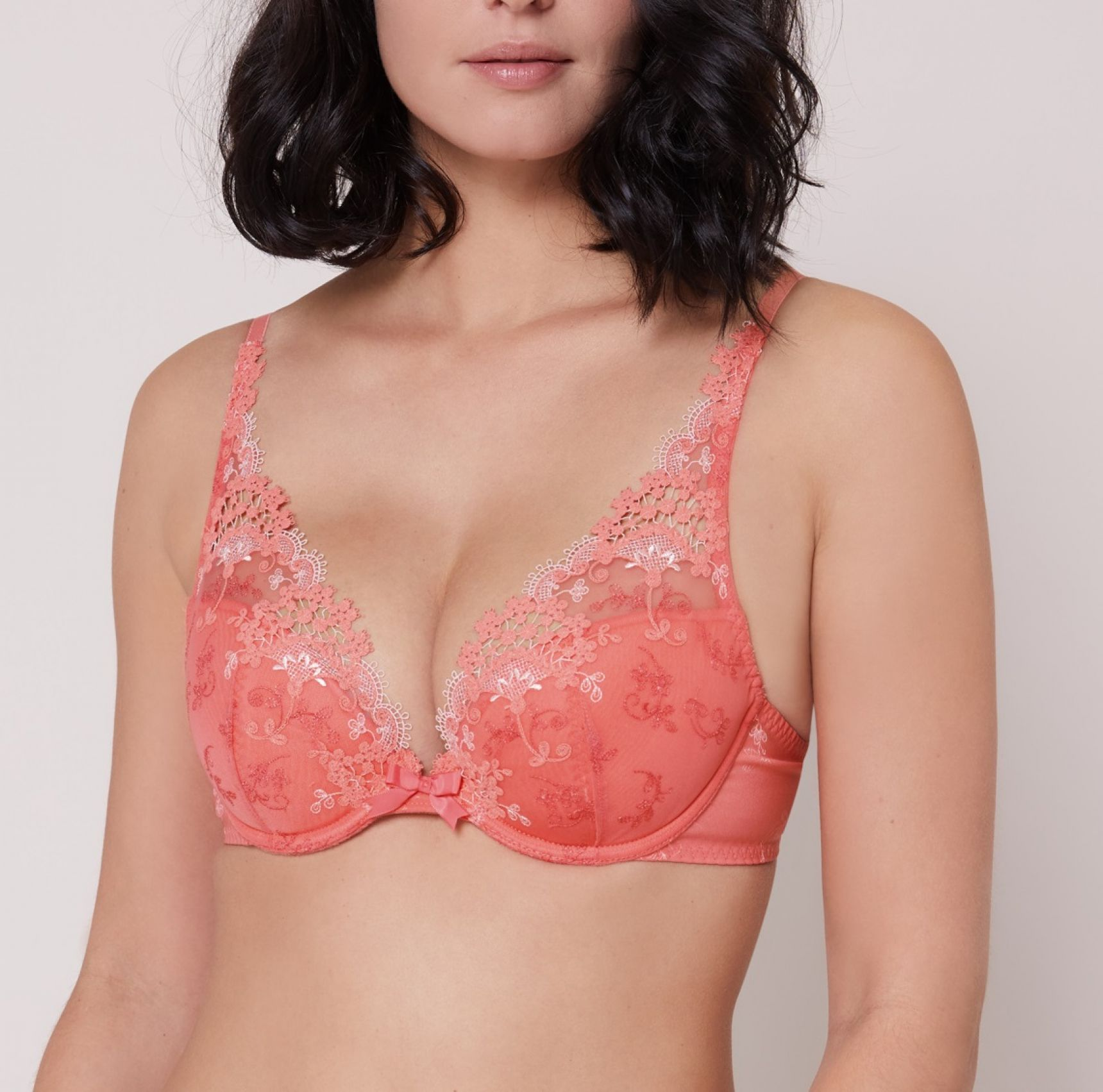 Wish push up -rintaliivi Coral
